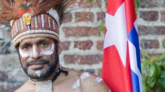Ketua United Liberation Movement for West Papua Benny Wenda. [The Guardian]