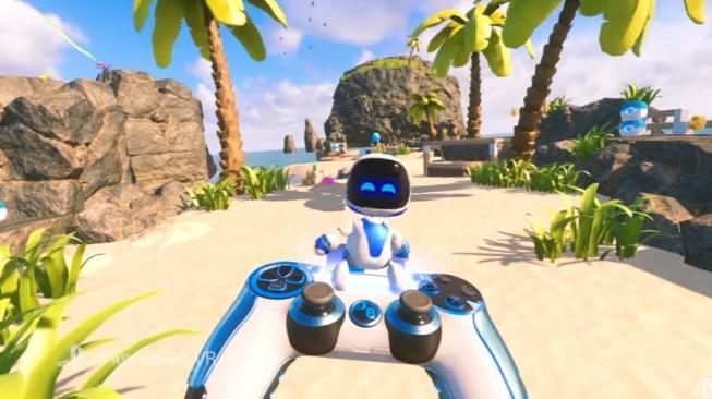 Best Game VR 2018, Astro Bot Rescue Mission. [YouTube/@PlayStation]