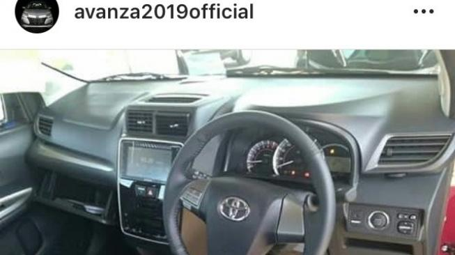 Start stop button Toyota Avanza Veloz [Instagram @avanza2019official]