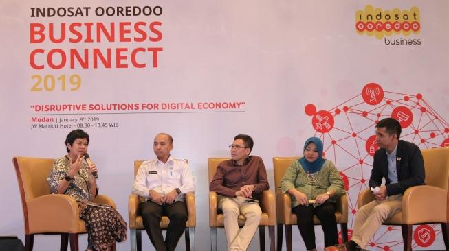Horas! Indosat Ooredoo Business Connect 2019 Sapa Medan