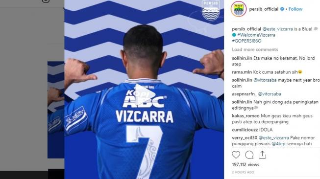 Screenshot instagram.com/persib_official