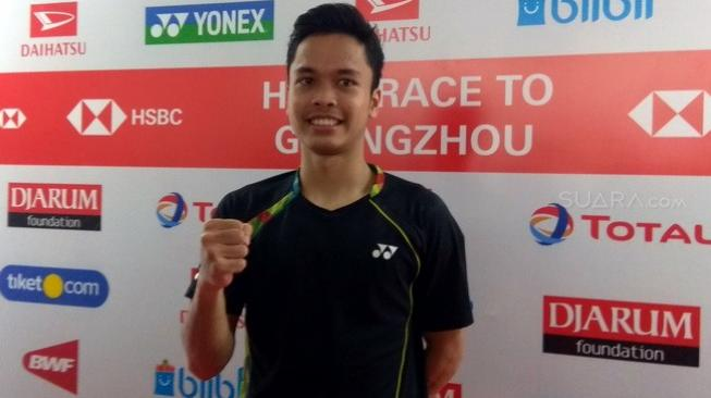 Melenggang ke Perempat Final Indonesia Masters, Anthony Terbantu Video Ini