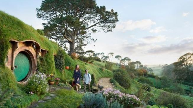 Lokasi syuting film The Lord of the Rings. (Tourism New Zealand)