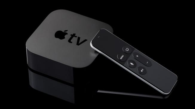 Ilustrasi Apple TV. [Shutterstock]