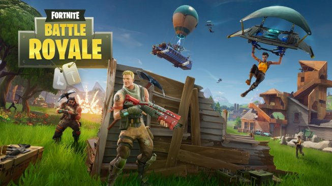 Game Battle Royale Fortnite. (Epic Games)