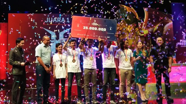 Ini Harga Tiket Grand Final Piala Presiden e-Sports 2019