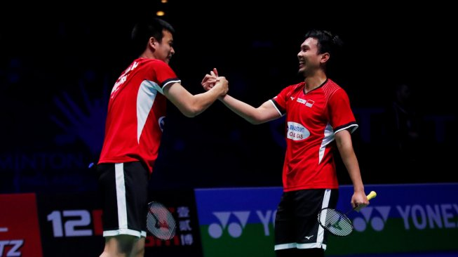 Hendra / Ahsan Tembus Final All England
