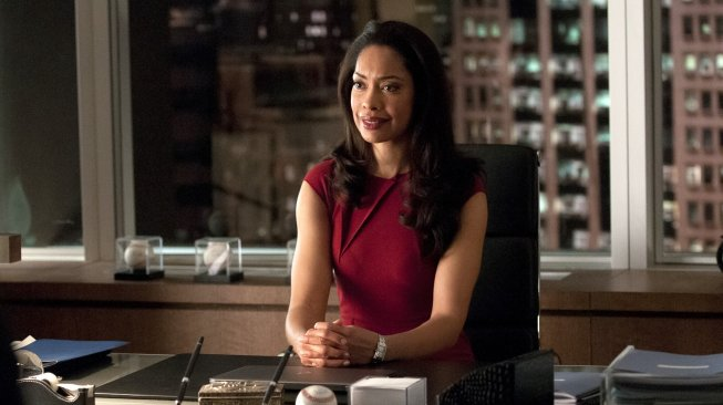 Jessica Pearson dalam Serial Suits. (Netflix)