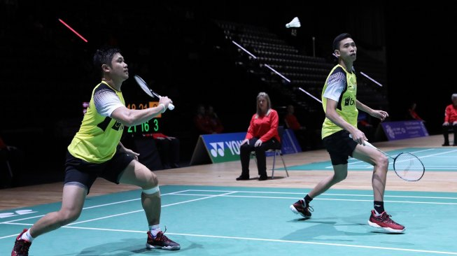 Pengalaman All England Bawa Wahyu / Ade ke Perempat Final Swiss Open 2019