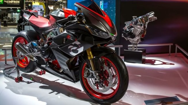 Aprilia RS660 dalam EICMA 2018 [YouTube New Motorcycles].