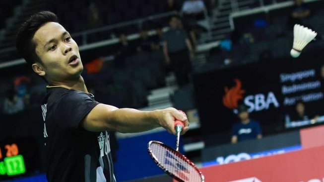Anthony Tumbang, Indonesia Tanpa Gelar di Singapore Open 2019