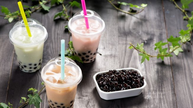 Minuman bubble tea. (Shutterstock)