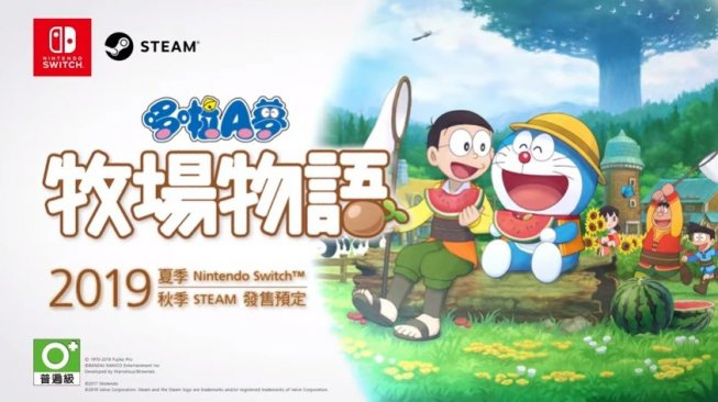 Doraemon Story of Season. [YouTube/@BANDAI NAMCO Entertainment Asia]