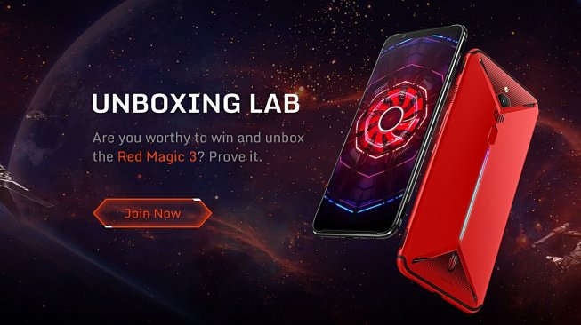 Nubia Red Magic 3. (Nubia)