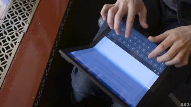 Lenovo Siapkan Pc Lipat Pertama Di Dunia