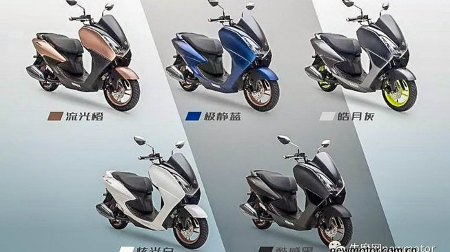 Yamaha Avenue 125. (newmotor.co.cn)