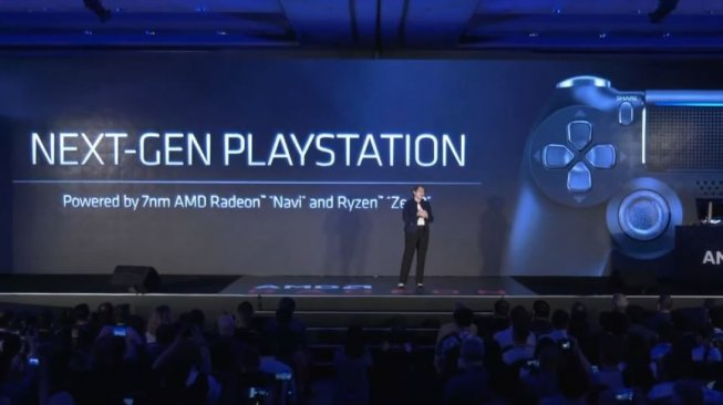 PlayStation 5 wear new architecture from AMD. (AMD)