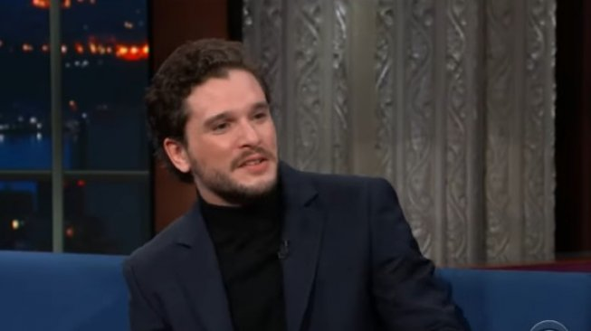 Kit Harington. (YouTube/The Late Show with Stephen Colbert)