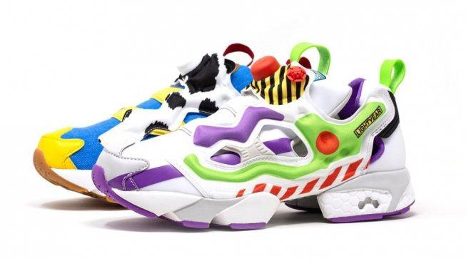 Reebok Toy Story. (Sneakernews)