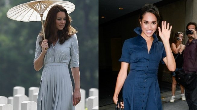 Kate Middleton - Meghan Markle. (Hello Magazine)