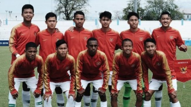 Indonesia Tekuk Myanmar di Laga Perdana Turnamen Boys Elite Football 2019