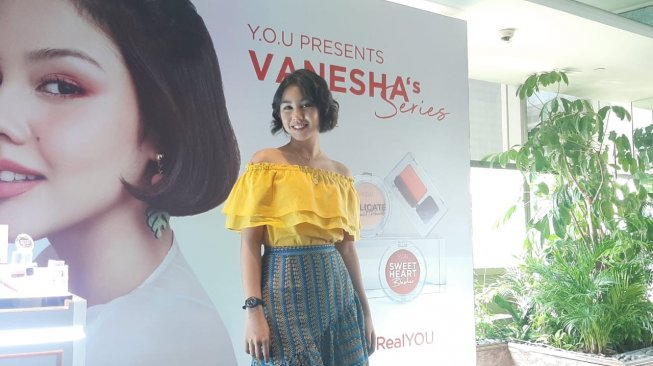 Ogah Tampil Menor, Vanesha Prescilla Lebih Senang Make Up Natural