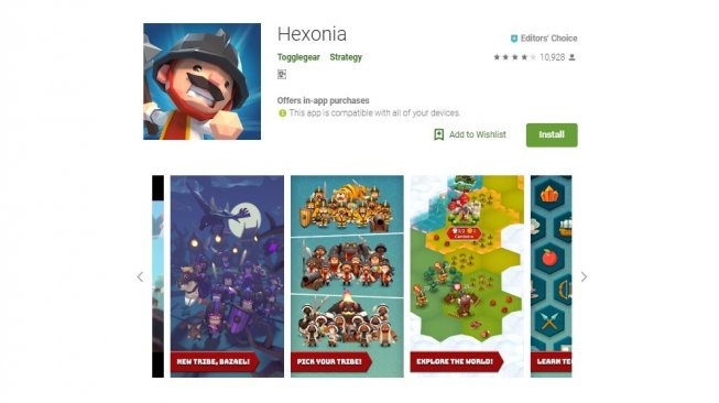Hexonia, game indie seru di Android. [Google Play Store]