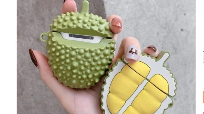 Airpods case model durian [Asia Kawaii Nation].