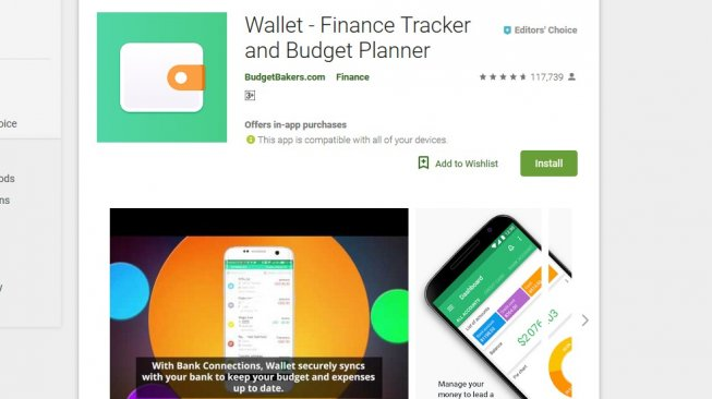 Wallet - Finance Tracker and Budget Planner [googleplay store].