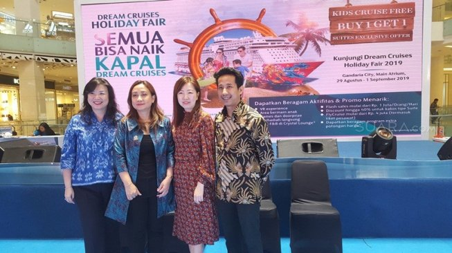 Dream Cruises Travel Fair [Suara.com/Vessy]