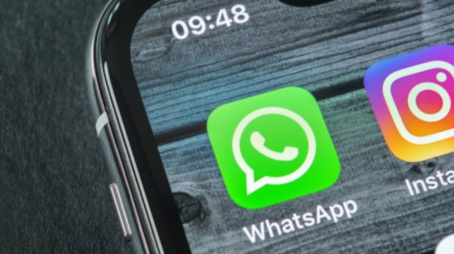 WhatsApp di iPhone. [Shutterstock]