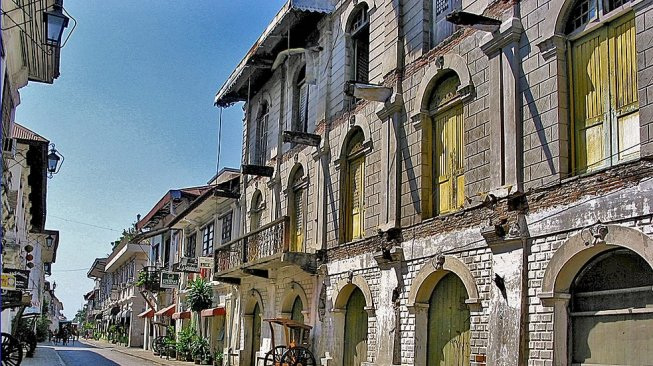 Vigan, Filipina (Google Maps)