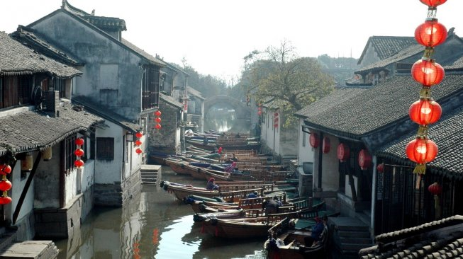 Zhouzhuang, China (Google Maps)