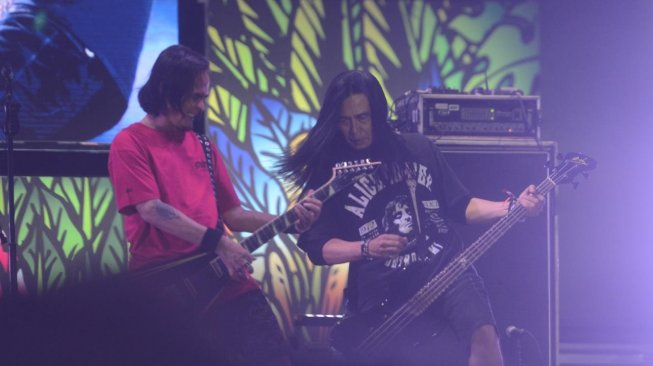 Penampilan band Jamrud di Soundrenaline 2019. [istimewa]