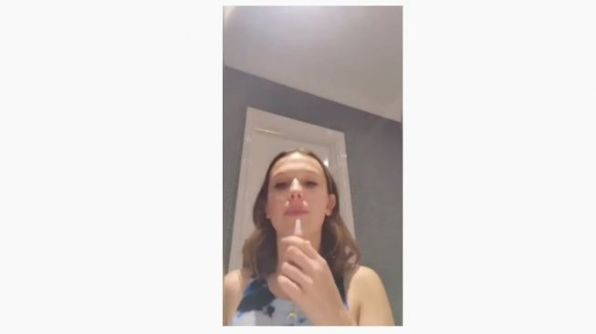 Millie Bobby Brown. (Youtube/Florence by Mills)