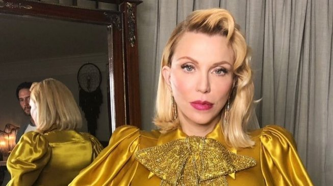 Courtney Love Tolak Tawaran Rp1,4 M di New York Fashion Week