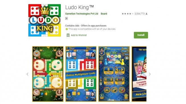 Board game Android, Ludo King. [Google Play Store]