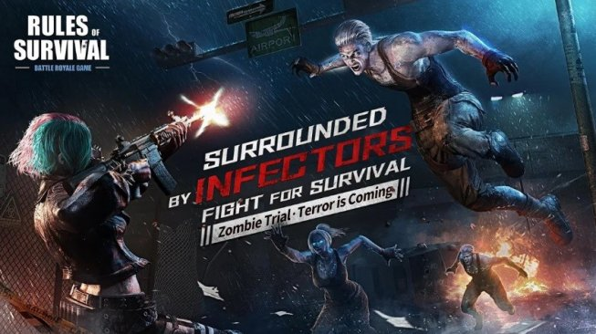 Game battle royale terbaik Android 2019, Rules of Survival. [Google Play Store]