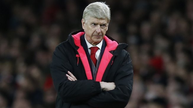 Mantan pelatih Arsenal, Arsene Wenger. [Ian KINGTON / IKIMAGES / AFP]