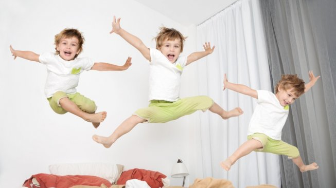 illustration of a hyperactive child [shutterstock]
