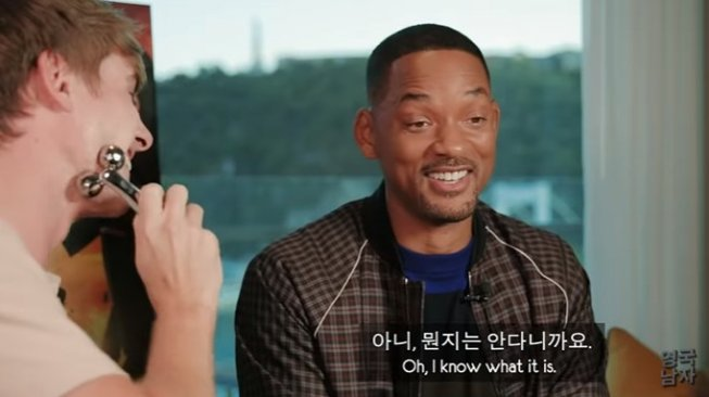 Korean Englishman wawancara bersama Will Smith. (YouTube/Korean Englishman)