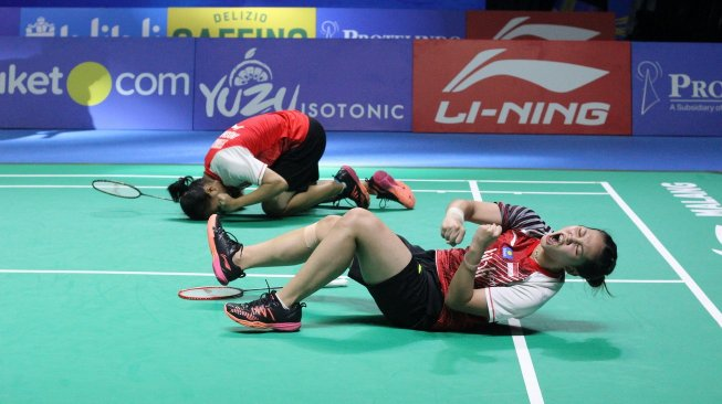 Derby Indonesia, Fadia / Ribka Juarai Indonesia Masters 2019 Super 100