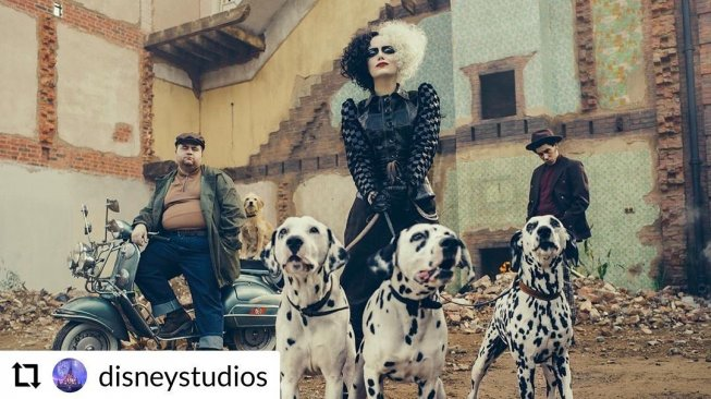 Cruella de Vill. (Instagram/@hollywoodbulletin)