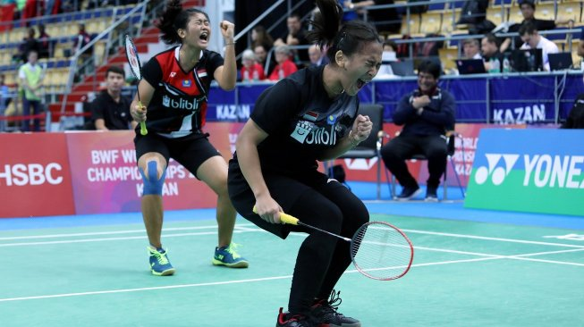 Febriana / Amalia Runner-up Kejuaraan Dunia Junior 2019