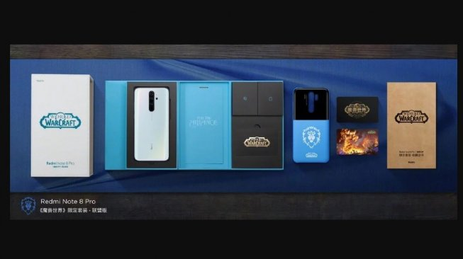 Xiaomi Luncurkan Redmi Note 8 Pro World of Warcraft Edition