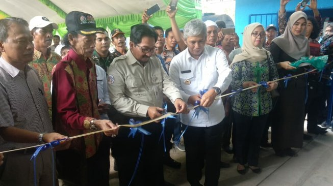 Program PKBM, Dirjen PSP Resmikan Warehouse UPJA di OKI