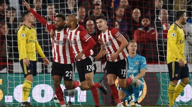 Arsenal Tumbang di Markas Sheffield United
