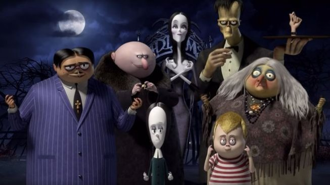 Film The Addams Family. (Poster Film)