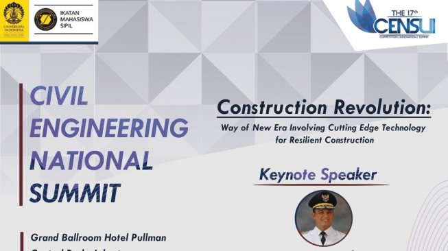 Civil Engineering National Summit Gelar Diskusi Soal Revolusi Industri 4.0