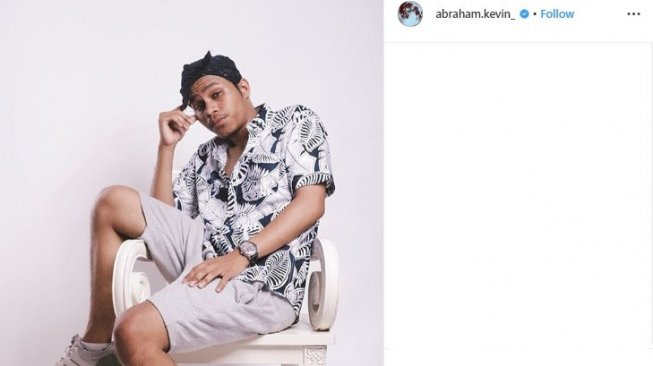 Kevin, indonesian idol 2018 (Instagram/@abraham.kevin_)